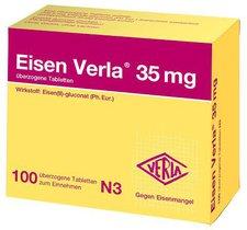 Verla-Pharm Eisen Verla 35 mg überzogene Tabletten (100 Stk.)