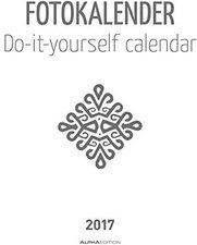 Alpha Edition Foto-Bastelkalender weiß