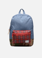 Herschel Settlement Youth Backpack navy crosshatch/red plaid