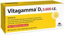Wörwag Vitagamma D3 5.600 I.E. Vitamin D3 NEM Tabletten (50 Stk.)