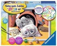 Ravensburger Malen nach Zahlen Freches Kätzchen