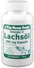 Hirundo Products Omega 3 Lachsöl 500 mg Kapseln (120 Stk.)