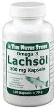 Hirundo Products Fischöl Kapseln 500 mg (120 Stk.)