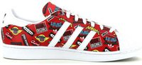 Adidas Superstar Nigo Allover Print scarlet/white/bluebird