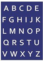 Rayher Schablone Alphabet-Großbuchstaben