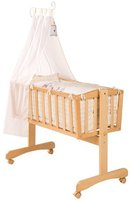 Roba Komplettwiegenset Sunny Day Holz natur