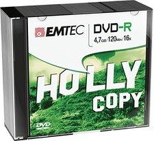 Emtec DVD-R 4,7GB 120min 16x 10er Slimcase