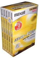 Maxell DVD-RW 4,7GB 120min 4x 5er Videobox