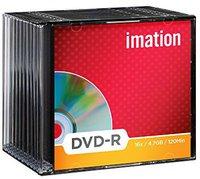 Imation DVD-R 4,7GB 120min 16x 10er Slimcase