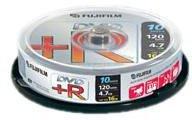 Fuji Magnetics DVD+R 4,7GB 120min 16x 10er Spindel