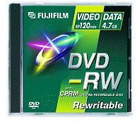 Fuji Magnetics DVD-RW 4,7GB 120min 2x 5er Jewelcase