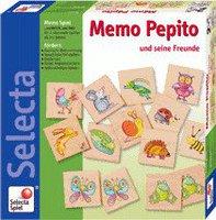 Selecta Spielzeug Memo Pepito und seine Freunde