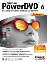 CyberLink PowerDVD 6 Deluxe (Win) (DE)