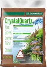 Dennerle Kristall-Quarzkies Rehbraun (10 kg)