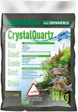 Dennerle Kristall-Quarzkies Diamantschwarz (10 kg)