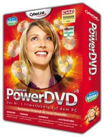 CyberLink PowerDVD 8 Standard (Win) (DE)