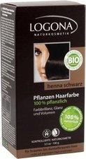 Logona Pflanzen-Haarfarbe Schwarz (100 g)