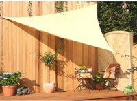 Peddy Shield Dreiecksonnensegel 3,6 x 3,6 x 3,6 (ohne Regenschutz)