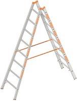 layher 1039 Topic Stehleiter 8 Sprossen