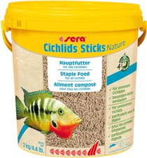 Sera cichlids Sticks (10 Liter)