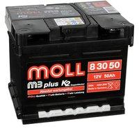 MOLL M3 plus K2 Doppeldeckel 12V 46Ah (83046)
