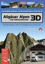 3D Realitymaps Allgäuer Alpen und Kleinwalsertal 3D