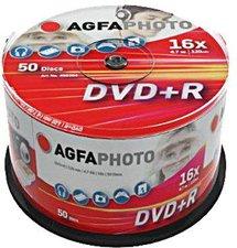 AgfaPhoto DVD+R 4,7GB 120min 16x 50er Spindel