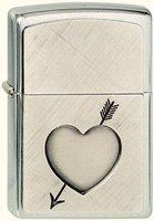 Zippo Love Story Heart with Arrow (900.713)