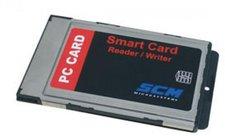 SCM SCR243 PCMCIA Chipkartenleser
