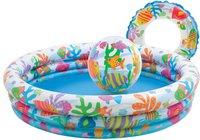 Intex Pools Planschbecken-Set Fischdesign 132 x 35 cm