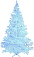 Europalms Tanne glitzerweiß UV (83500186)