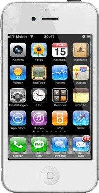 Apple iPhone 4 32GB Weiß ohne Vertrag