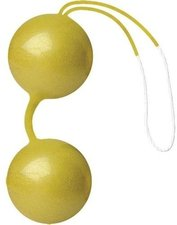 Joydivision Joyballs de Luxe Gelb-Gold-Metallic