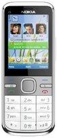 Nokia C5-00 (3,2MP) Weiß ohne Vertrag