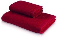 Möve Superwuschel Handtuch rubin (50 x 100 cm)
