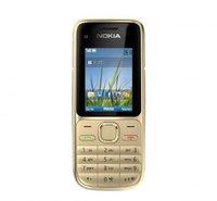 Nokia C2-01 Warm Silver ohne Vertrag