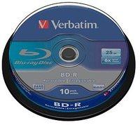 Verbatim BD-R 25GB 135min 6x 10er Spindel