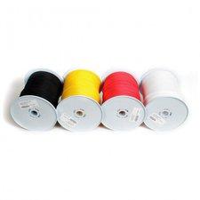 Relags Seile 3mm auf 30 Meterrollen schwarz