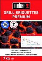 Weber Long Lasting Premium Briquettes 3 kg (16011)