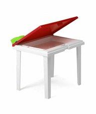 Best Freizeitmöbel Kindertisch Aladino 60x45cm weiss/gelb (18516499)