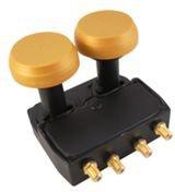 Microelectronic New Gold LNB Monoblock Quad