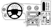 Brodit ProClip Audi A3 Bj. 07-12