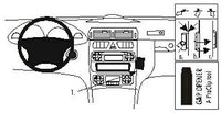 Brodit ProClip Mercedes Benz C-Klasse Bj. 00-06