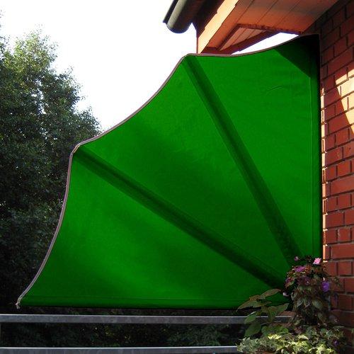 Leco Sichtschutzfächer grün