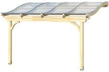 Skanholz Terrassenüberdachung Verona 434 x 339 cm