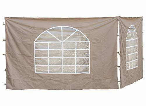 Grasekamp Seitenteile Lounge Pavillon 3 x 3 m