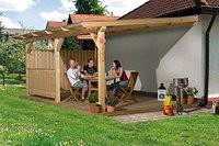 weka Holzbau Terrassenüberdachung Summer