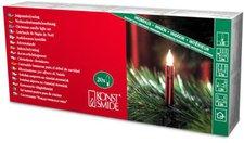 Konstsmide Weihnachtsbaumkette rot 20 Kerzen (2316-550)