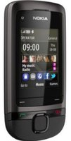 Nokia C2-05 Touch and Type Grau ohne Vertrag