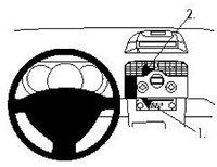 Brodit ProClip Renault Kangoo Bj. 08-12